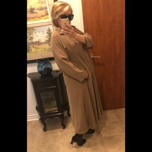 Hilary Ridley Long Trench Coat
